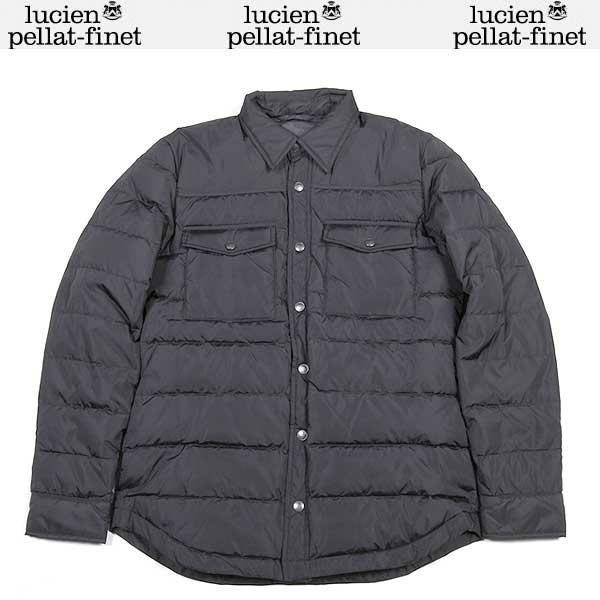 ルシアン ペラフィネ lucien pellat-finet メンズ ダウン ジャケット YMP 364H BLACK 15A【送料無料】【smtb-TK】