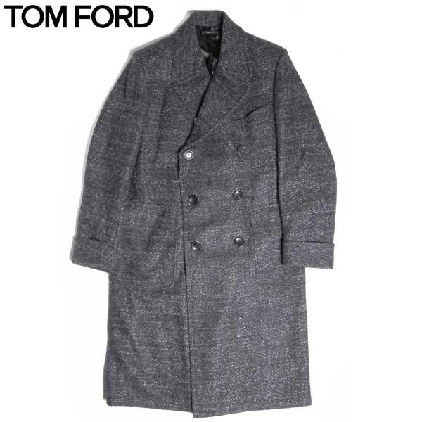 トムフォード TOM FORD メンズ ウール アルパカ コート TF NO/24 GREYMIX 15A【送料無料】【smtb-TK】