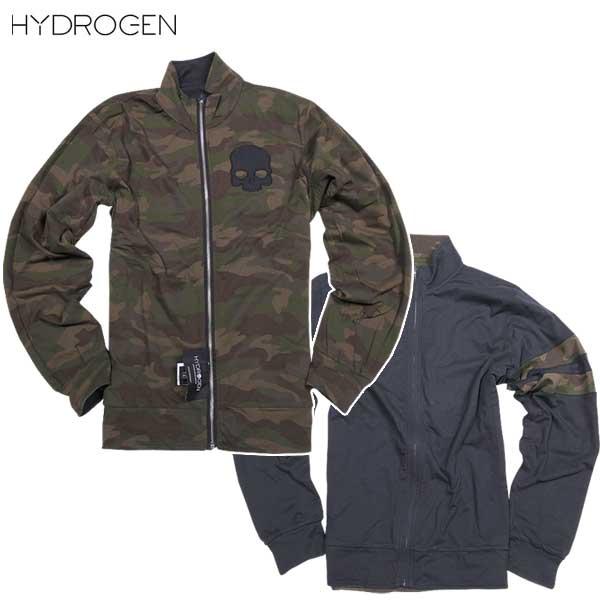 【送料無料】 ハイドロゲン(HYDROGEN) リバーシブル トラックジャケット スウェット 170606 247 15A