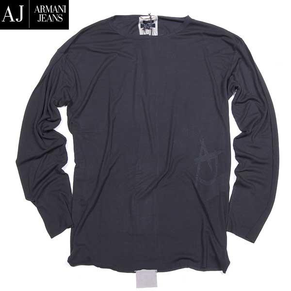 アルマーニジーンズ ARMANI-JEANS メンズ ロング Tシャツ 長袖 カットソー B6M58 HA E5 15A【送料無料】【smtb-TK】