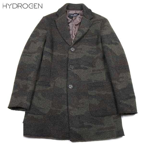 ハイドロゲン HYDROGEN メンズ ウール コート 170315 397 15A【送料無料】【smtb-TK】