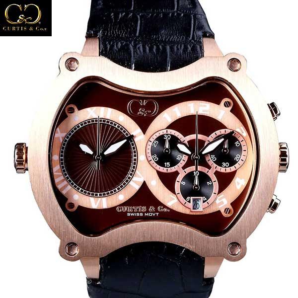 カーティス Curtis & Co. 正規代理店 腕時計 BGD57BR-RG (R345600)【送料無料】【smtb-TK】