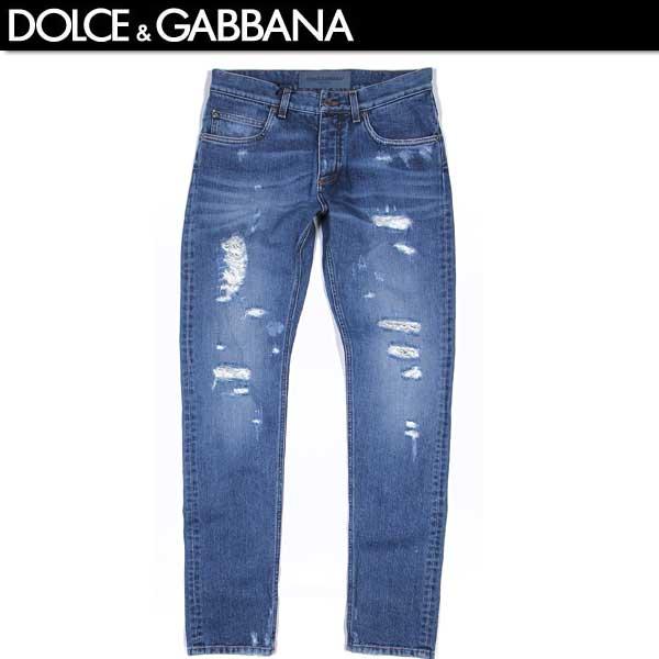 【送料無料】 ドルチェ&ガッバーナ(DOLCE&GABBANA)16CLASSIC メンズ クラッシュデニム ジーンズ G6LBCD G8S36 S9001 【SALE1602】 61S