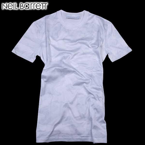 【送料無料】 ニールバレット (NeilBarrett)メンズ クルーネック 半袖 Tシャツ マルチプリント PBJT61 A519S 1458 【SALE1602】 61S
