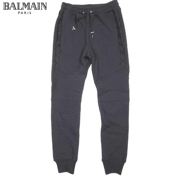 バルマン BALMAIN メンズ レースアップ スウェット パンツ S6H J583 D322L 176 61S (R128001) 【送料無料】【smtb-TK】