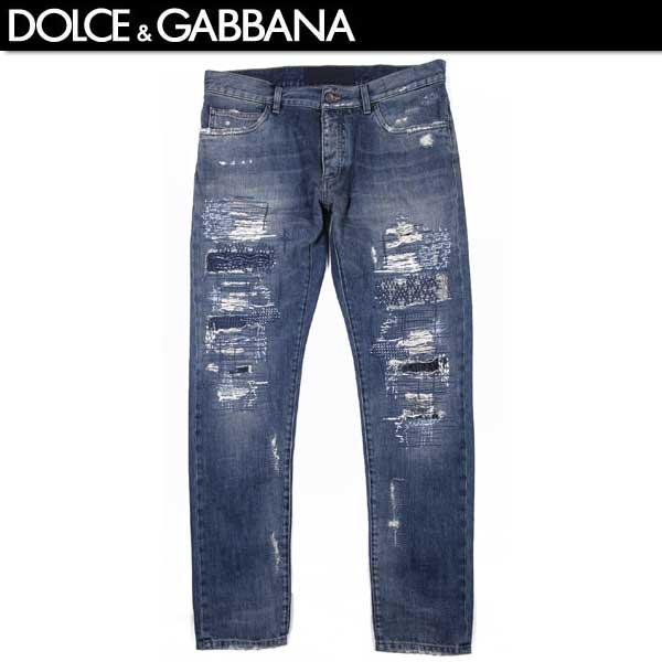 【送料無料】 ドルチェ&ガッバーナ(DOLCE&GABBANA) メンズ クラッシュデニム ジーンズ G6LBCD G8S39 S9001 【SALE1603】61S