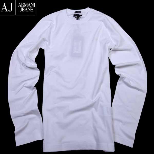アルマーニジーンズ ARMANI-JEANS メンズ ロング Tシャツ 長袖 カットソー 06H86 DA 10 61S【送料無料】【smtb-TK】