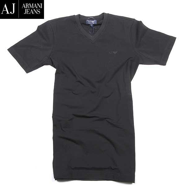 アルマーニジーンズ ARMANI-JEANS メンズ Vネック半袖 Tシャツ イーグルロゴ 06H29 DA 12 61S【送料無料】【smtb-TK】