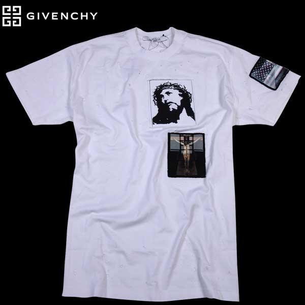 ジバンシー GIVENCHY メンズ 半袖 Tシャツ キリストプリント 16J7137 651 100 61S【送料無料】【smtb-TK】