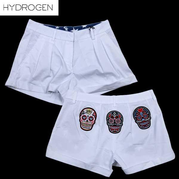 ハイドロゲン HYDROGEN レディース ハーフパンツ 181213 001 61S【送料無料】【smtb-TK】
