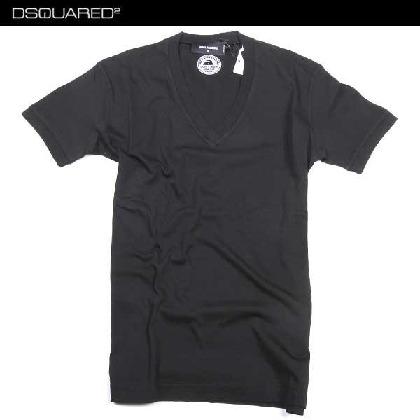 【送料無料】 ディースクエアード (DSQUARED39) メンズ Vネック 半袖 Tシャツ S71GD0325 S22427 900 【smtb-tk】 61S