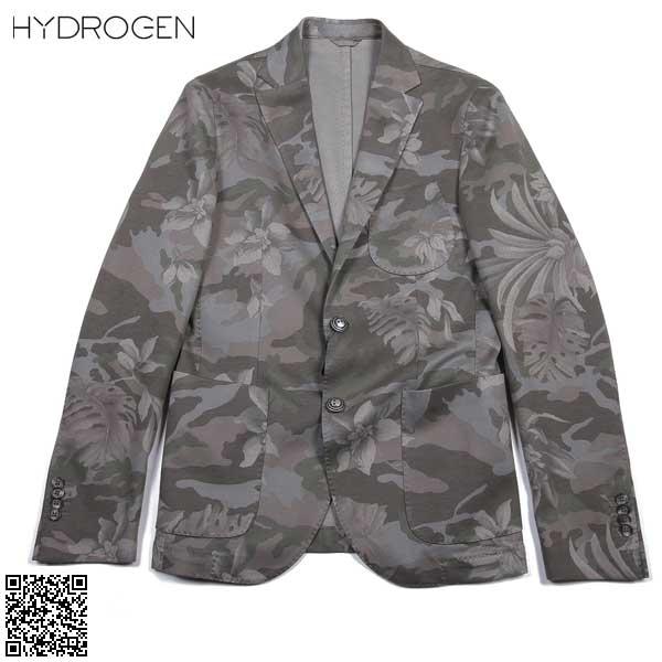 ハイドロゲン HYDROGEN メンズ テーラード ジャケット ブレザー 180300 192 61S【送料無料】【smtb-TK】