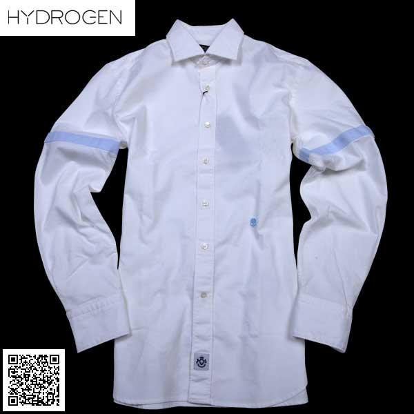 ハイドロゲン HYDROGEN メンズ オックスフォードシャツ 180400 A01 61S【送料無料】【smtb-TK】