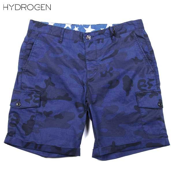 ハイドロゲン HYDROGEN メンズ ハーフパンツ カーゴショーツ 180506 022 61S【送料無料】【smtb-TK】