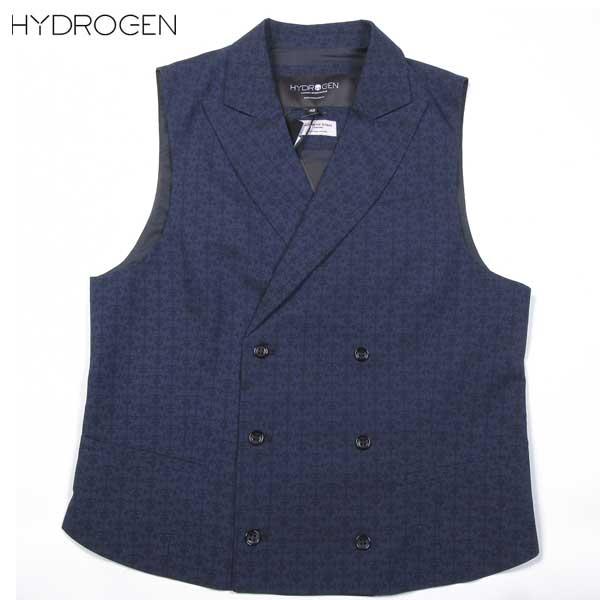 ハイドロゲン HYDROGEN メンズ ジレベスト 180204 A19 61S【送料無料】【smtb-TK】