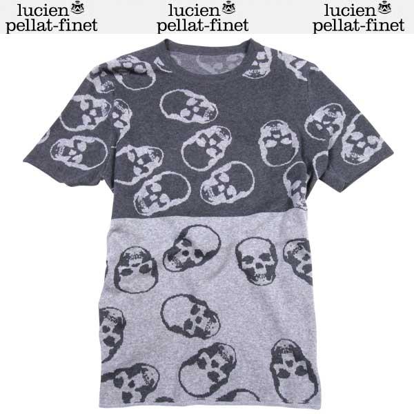 ルシアン ペラフィネ lucien pellat-finet メンズ 半袖 カットソー 半袖 Tシャツ AT2224H F GREY A0100 /D GREY A0101 DB61S【送料無料】【smtb-TK】