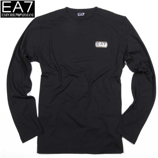 エンポリオアルマーニ EMPORIO-ARMANI メンズ EA7 クルーネック ロング Tシャツ 273360 6P685 00020 61S (R12850) 【送料無料】【smtb-TK】