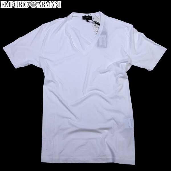 エンポリオアルマーニ EMPORIO-ARMANI メンズ Vネック 半袖 Tシャツ CNH18 AC 10 61S【送料無料】【smtb-TK】