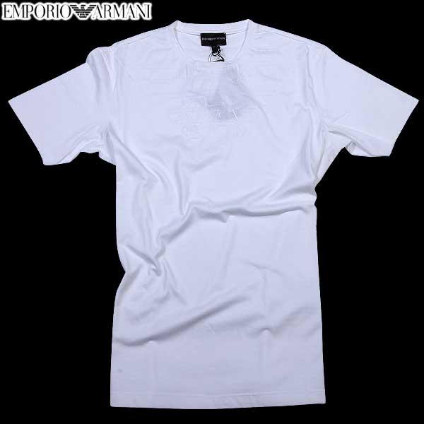 エンポリオアルマーニ EMPORIO-ARMANI メンズ クルーネック 半袖 Tシャツ CNH52 BC 1M 61S (R22680) 【送料無料】【smtb-TK】