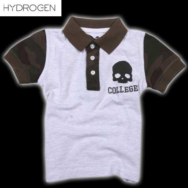 ハイドロゲン HYDROGEN キッズ 半袖 シャツ 146014 015 DB14S