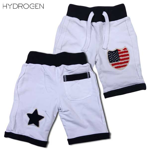 ハイドロゲン HYDROGEN キッズ ブロンザージ ハーフパンツ 14B006 001 DB14S (R16800)