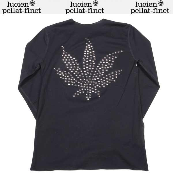 ルシアンペラフィネ lucien pellat-finet レディース ロング Tシャツ 長袖 EVF1068 BK DB12S (R102900)【送料無料】【smtb-TK】
