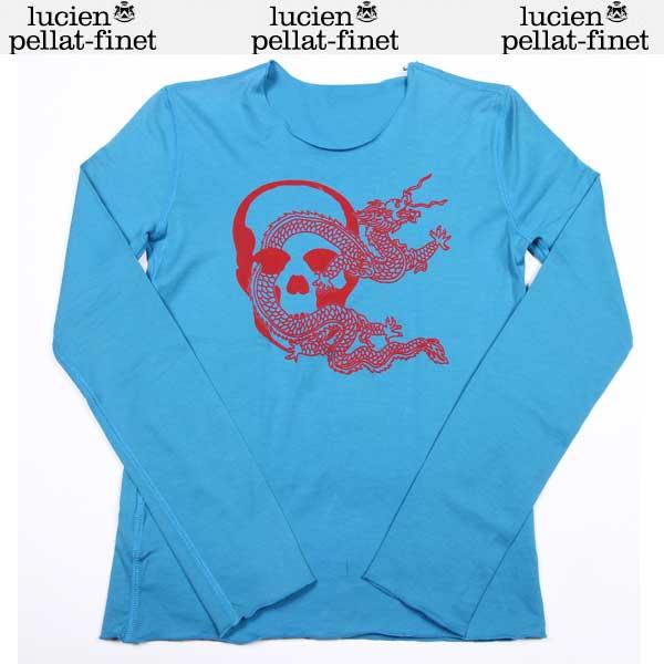 ルシアンペラフィネ lucien pellat-finet レディース ロング Tシャツ 長袖 EVF1033 sinai/blue/red DB12S (R73500)【送料無料】【smtb-TK】