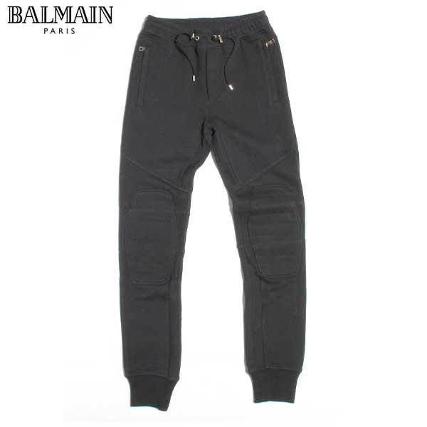 【送料無料】 バルマン(BALMAIN) メンズ バイカー スウェットパンツ W6H J513 D323 176 【smtb-TK】 【SALE1609】 61A