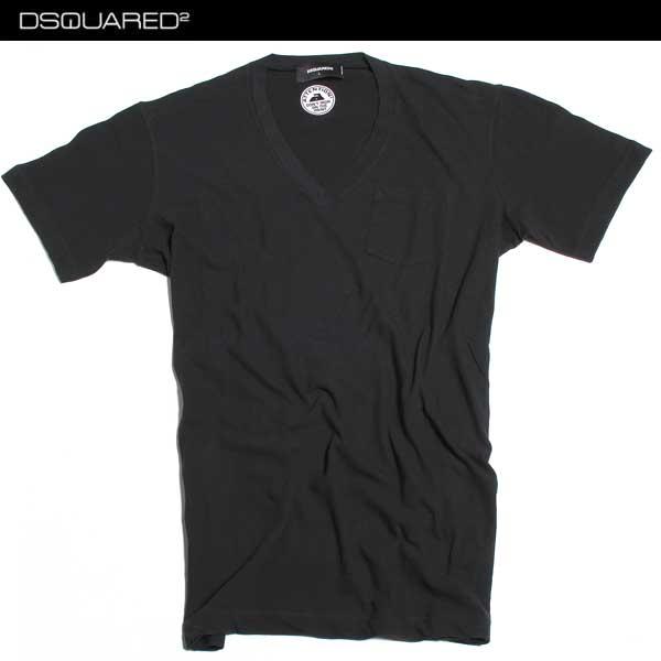 ディースクエアード DSQUARED2 メンズ Tシャツ 半袖 S74GD0136 S22507 900 61A【送料無料】【smtb-TK】