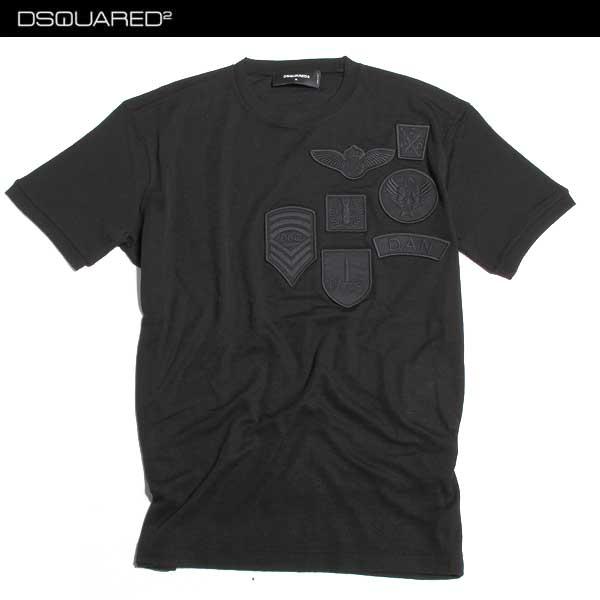 ディースクエアード DSQUARED2 メンズ Tシャツ 半袖 S74GD0143 S22620 900 61A【送料無料】【smtb-TK】