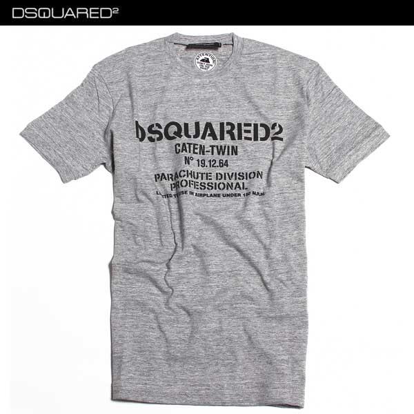 ディースクエアード DSQUARED2 メンズ Tシャツ 半袖 S74GD0170 S22742 888 61A【送料無料】【smtb-TK】
