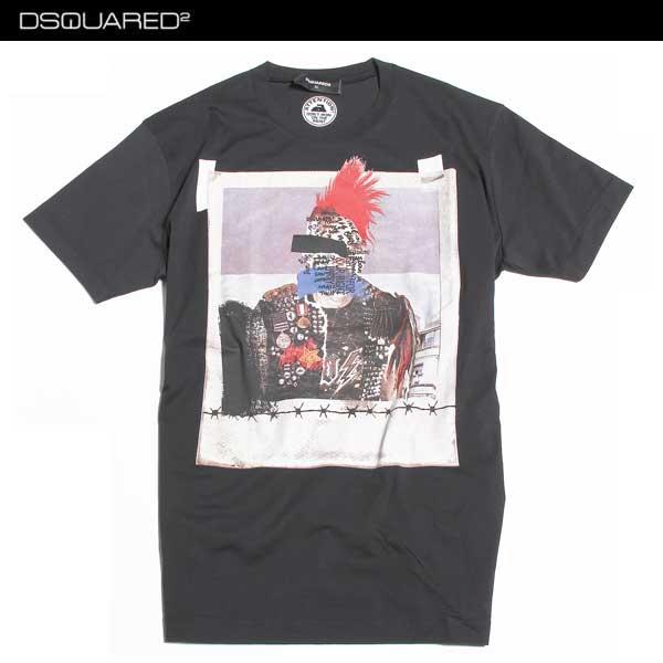 ディースクエアード DSQUARED2 メンズ Tシャツ 半袖 S74GD0146 S22844 900 61A【送料無料】【smtb-TK】