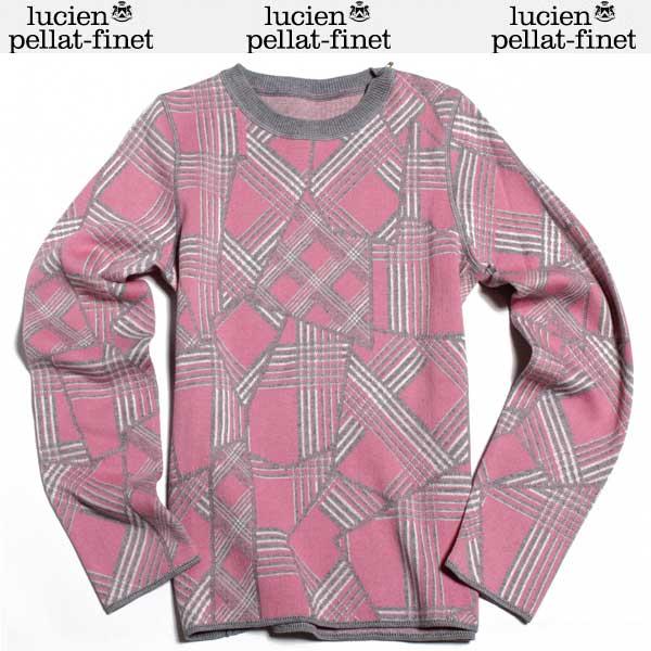 ルシアン ペラフィネ lucien pellat-finet レディース カシミヤ セーター AT2270F PINK DB61A (R198720)【送料無料】【smtb-TK】
