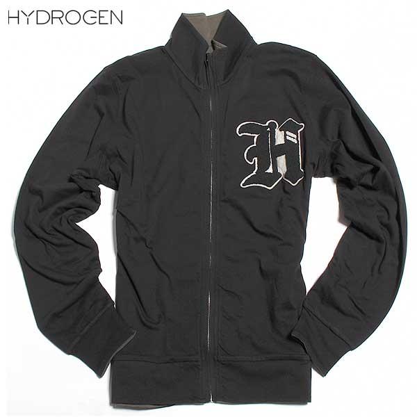 ハイドロゲン HYDROGEN メンズ リバーシブル トラックジャケット 黒 ・カーキ色 の両面着用可能 190680 A55 DB61A【送料無料】【smtb-TK】