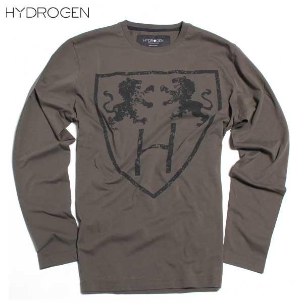 ハイドロゲン HYDROGEN メンズ 長袖 Tシャツ 190004 164 DB61A【送料無料】【smtb-TK】