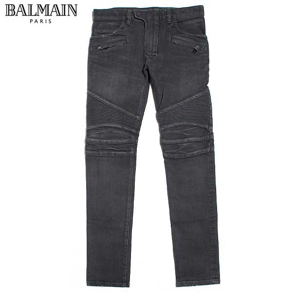 バルマン BALMAIN メンズ ジーンズ ボトムス バイカーズデニム W4HT551 B658V 176 61I (R141718) 【送料無料】【smtb-TK】
