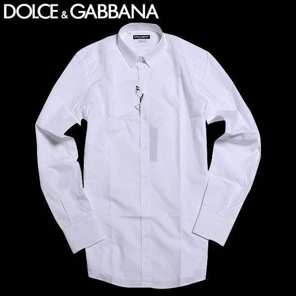 【送料無料】 ドルチェ&ガッバーナ(DOLCE&GABBANA)GOLDライン メンズ ドレスシャツ ワイシャツ G5DM6T FU5GK W0800 【smtb-TK】 61A