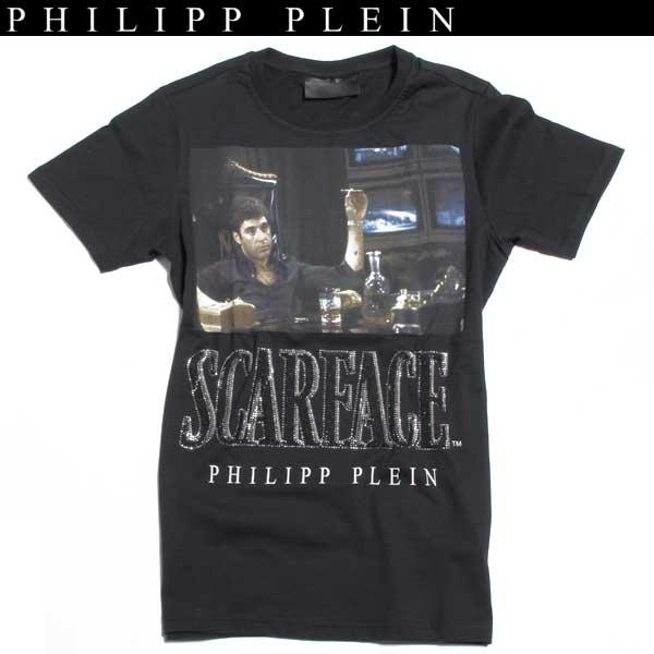 フィリッププレイン PHILIPP PLEIN メンズ 半袖 Tシャツ HM340680 02 61A【送料無料】【smtb-TK】
