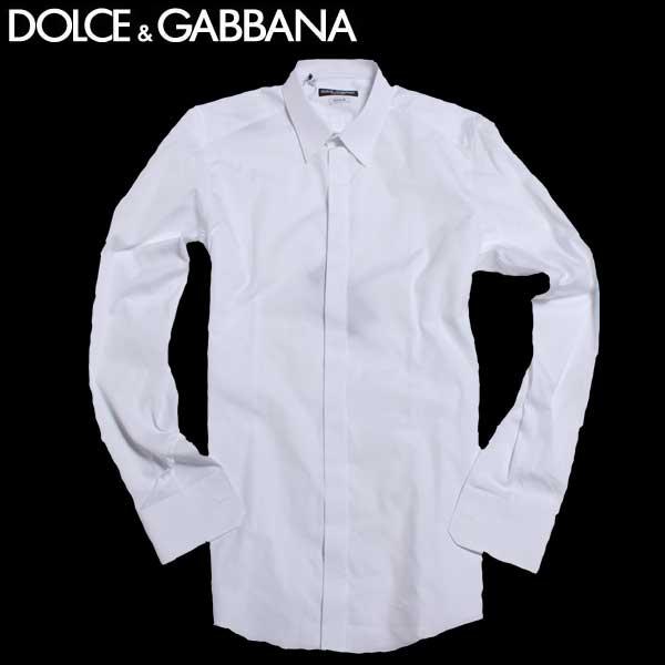 【送料無料】 ドルチェ&ガッバーナ(DOLCE&GABBANA)GOLDライン メンズ ドレスシャツ ワイシャツ G5DS4T FU5GK W0800 【smtb-TK】 61A