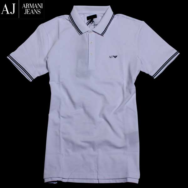 アルマーニジーンズ ARMANI-JEANS メンズ 半袖 シャツ 8N6F30 6JPTZ 1100 61A (R16200) 【送料無料】【smtb-TK】