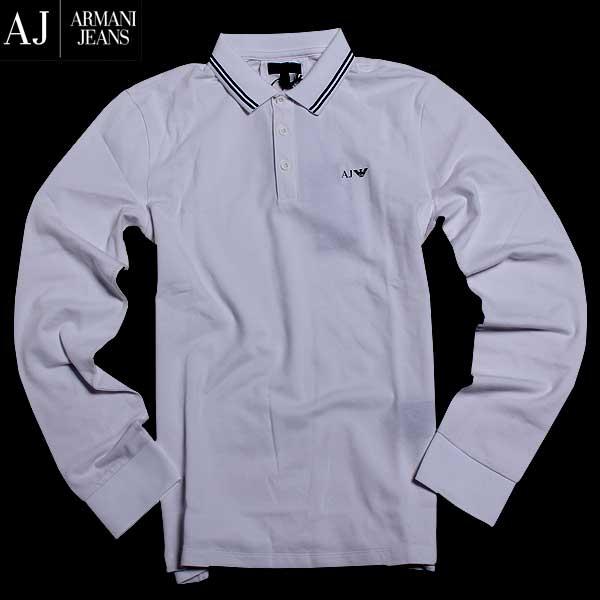 アルマーニジーンズ ARMANI-JEANS メンズ 長袖 シャツ 8N6F36 6JPTZ 1100 61A【送料無料】【smtb-TK】
