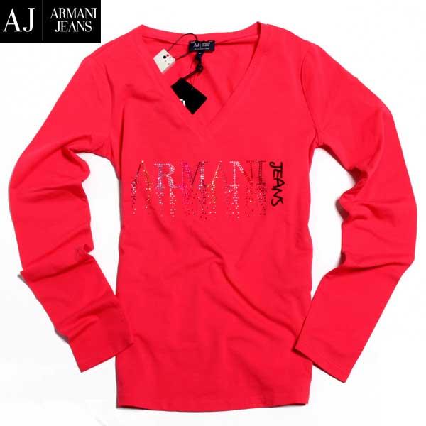 アルマーニジーンズ ARMANI-JEANS レディース 長袖 Tシャツ ロンT 6X5T44 5JABZ 1400 61A (R15120) 【送料無料】【smtb-TK】