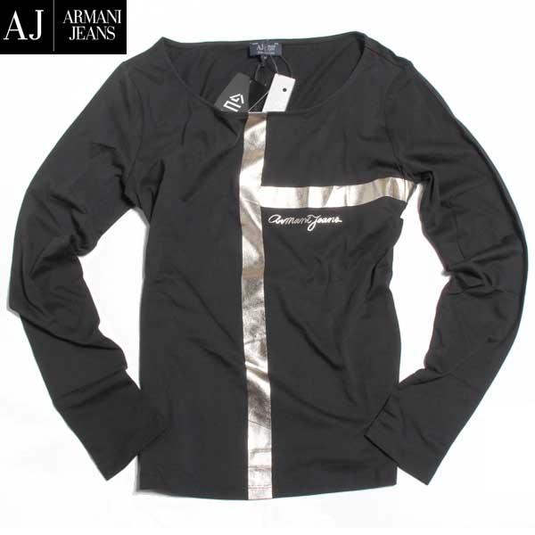 アルマーニジーンズ ARMANI-JEANS レディース 長袖 Tシャツ ロンT 6X5T56 5JPXZ 1200 61A (R12960) 【送料無料】【smtb-TK】