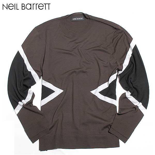 ニールバレット Neil Barrett メンズ 長袖 カットソー BMA253V B611C 1595 61A【送料無料】【smtb-TK】