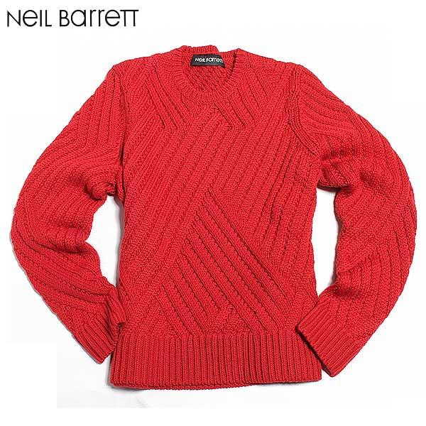 ニールバレット Neil Barrett メンズ セーター カットソー BMA526 B618 554 61A【送料無料】【smtb-TK】
