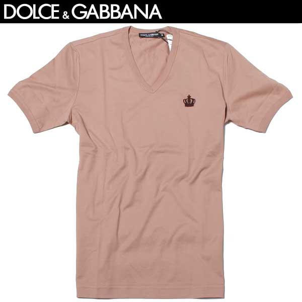 ドルチェ&ガッバーナ DOLCE&GABBANA メンズ Vネック 半袖 Tシャツ G8FV6T G7HCH F0991 61A (R36720)【送料無料】【smtb-TK】