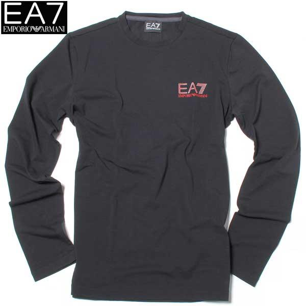 エンポリオアルマーニ EMPORIO-ARMANI メンズ EA7 クルーネック ロング Tシャツ 長袖 6XPT77 PJ03Z 1200 61A【送料無料】【smtb-TK】