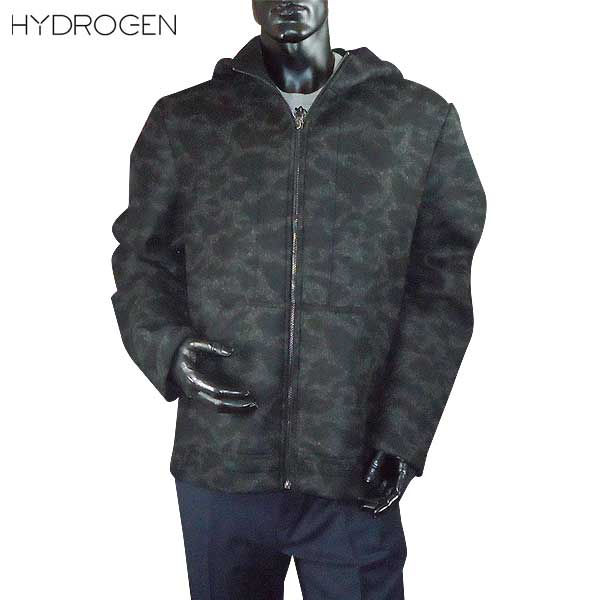 ハイドロゲン HYDROGEN メンズ ジップアップ パーカー 190325 857 DB61A【送料無料】【smtb-TK】