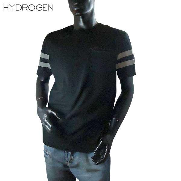 ハイドロゲン HYDROGEN メンズ クルーネック 半袖 Tシャツ 200622 007 71S【送料無料】【smtb-TK】