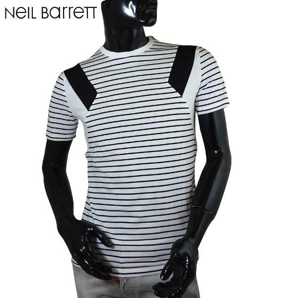 ニールバレット Neil Barrett メンズ クルーネック 半袖 Tシャツ PBJT181B E517C 526 71S【送料無料】【smtb-TK】